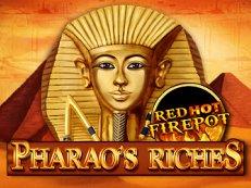 pharaohs riches red hot firepot