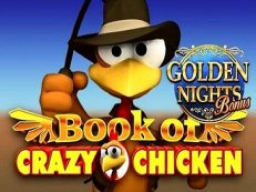 book of crazy chicken golden nights bonus