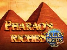 pharaohs riches golden nights bonus