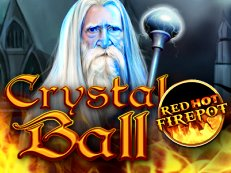 crystal ball red hot firepot